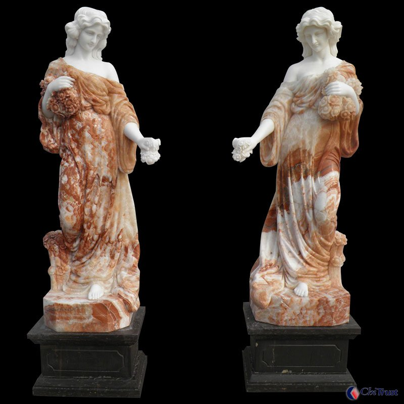 China marble Greek lady statues