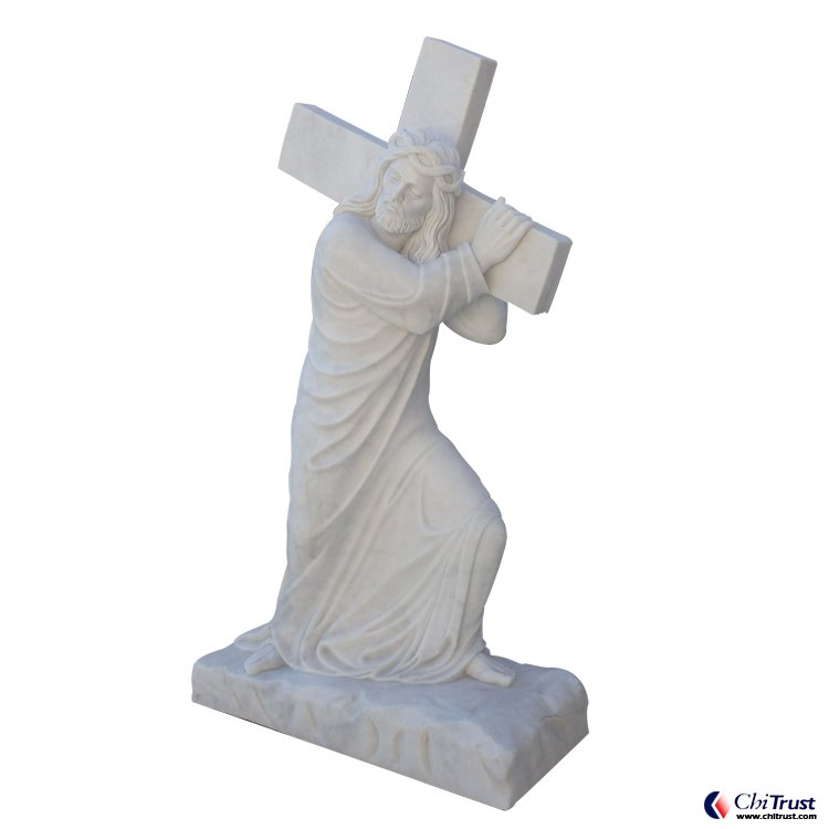 Marble carving Jesus birth statues
